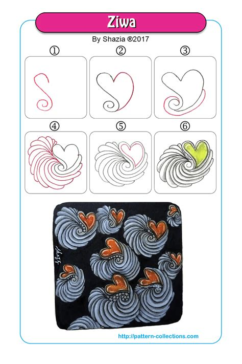 doodle name ria z pattern collections