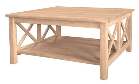 unfinished square coffee table 5 best large square coffee tables for any corner space