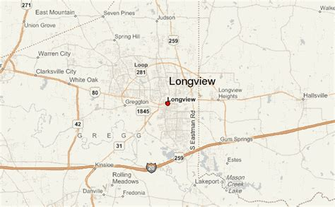 where is longview texas on a map gu 237 a urbano de longview texas