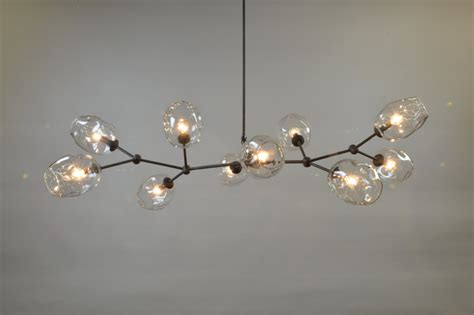 Branch Chandeliers 10 Globe Blown Glass Staccato Branch Chandelier Hanging