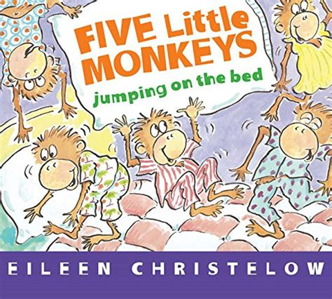 five little monkeys jumping on the bed book five little monkeys puppets and literacy activities