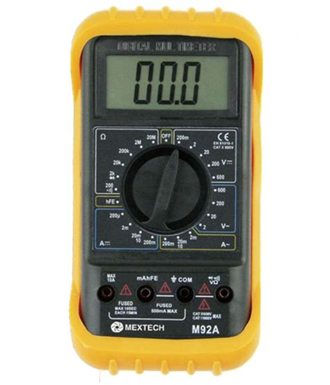 Online Shopping For Home Furnishings Home Decor mextech m92a black digital multimeter best deals with