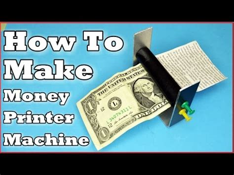 How To Make Money Paper - how to make money printer machine