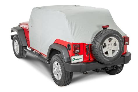 Jeep Jk Cab Cover Rugged Ridge 13318 10 Weather Lite Cab Cover For 07 17