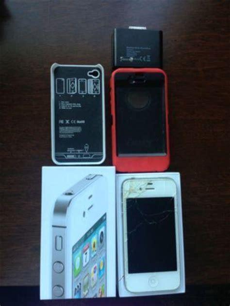 pattern unlock iphone not jailbroken iphone 4 unlocked jailbroken white ebay
