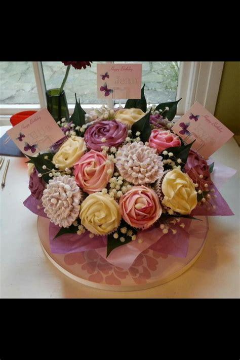 cupcake flower arrangements 1000 images about cupcake flower bouquets on pinterest