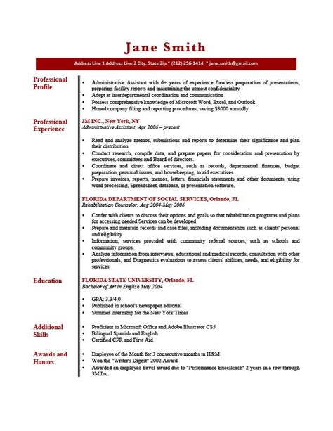 profile for resume how to write a professional profile resume genius