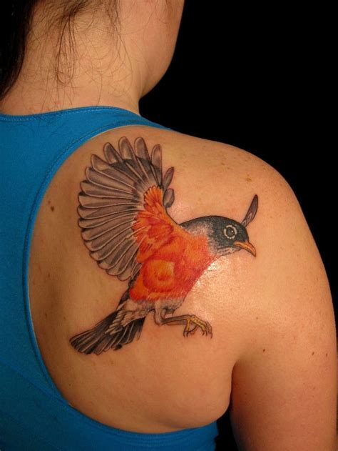 simple robin tattoo american robin fly the cage tattoo designs pinterest