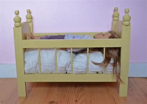 baby doll crib plans white fancy baby doll crib diy projects