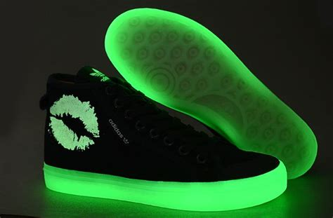 glow in the shoes adidas lip glow in the shoes fresh