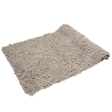 Silver Bath Rugs by Luxury Sparkle 100 Cotton Chenille Rug Bath Mat Silver