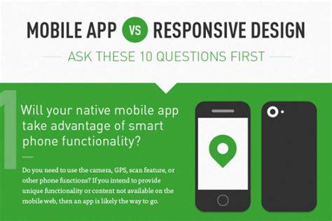 Responsive Design Vs App | mobile app vs responsive design brandongaille com