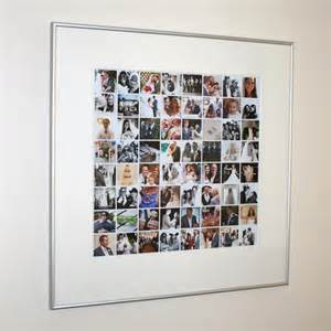 A Perfect Day Wall Mural framed wedding photo collage life poster