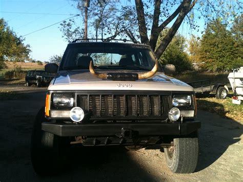 hella bull l bull horns on my xj jeep cherokee forum