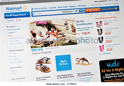 Walmart Background Check Website Walmart Stock Photos Walmart Stock Images Alamy