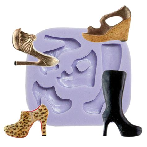 high heel mold high heel shoes boots silicone mold itacakes part 1