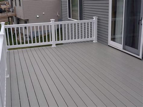Composite Vs Wood Decking by Wood Vs Composite Deck Price Home Design Ideas