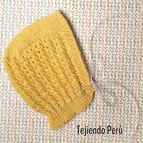 gorro acanalado tejido en dos agujas o palitos en 4 tallas una forma diferente de tejer gorro cl 225 sico tejido en dos agujas o palitos para beb 233 s