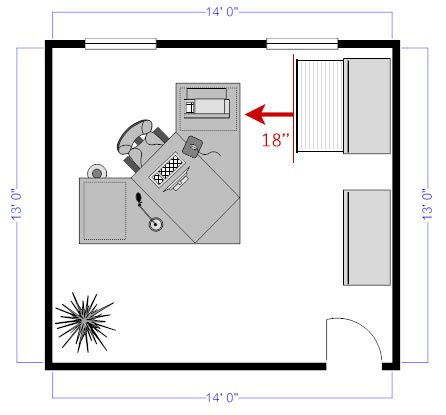 11 Tips For Perfect Floor Plans Office Desk Layout Template