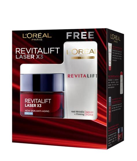 L Oreal Revitalift Laser X3 l oreal revitalift laser x3 combo anti ageing and anti wrinkle foam buy l