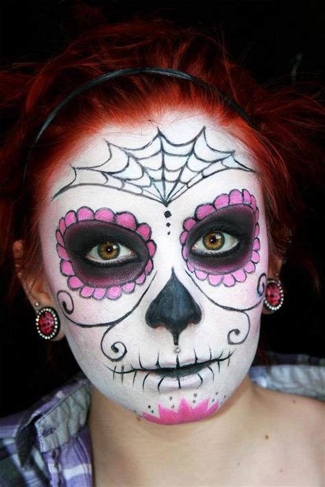 Makeup Sk Ll sugar skull makeup half the knownledge