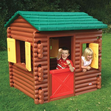 little tikes house little tikes log cabin playhouse new wendy house ebay