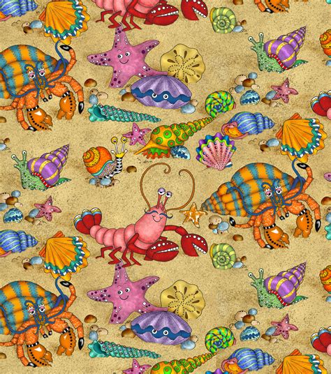 Novelty Quilting Fabric by Novelty Quilt Fabric The Sea At Joann
