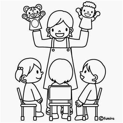 dibujos maestra infantil az dibujos para colorear maestra de infantil el colegio dibujos para colorear