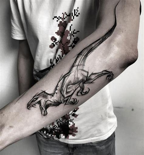velociraptor tattoo raptor beautiful ink tatoo and tatting