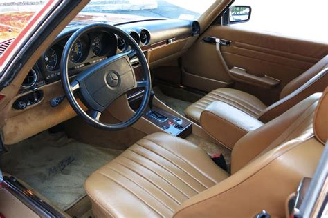 W124 Interior Colors by 1988 Mercedes 560sl Roadster 187336