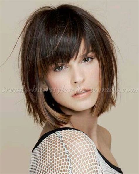 haircut for 8year w bangs long layered bob with fringe www pixshark com images