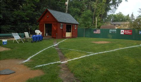 Backyard Baseball Wiffle Shed Field Wiffle Field Of The Month Excursions
