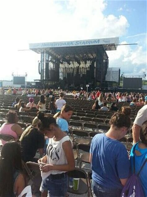 section e section d row 51 great seats picture of hersheypark