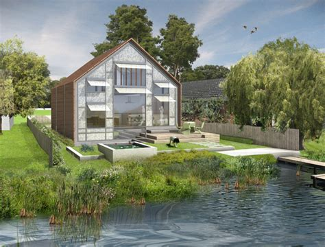 thames floating house the amphibious house baca architect s blog