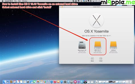 os x install yosemite how to install mac os x 10 10 yosemite on an external