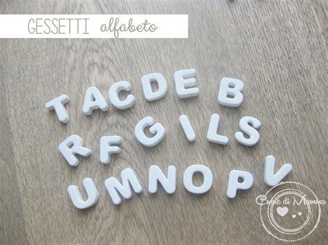con lettere alfabeto di gessetti feste bomboniere di lo shop di