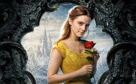Emma Watson Di Film Beauty And The Beast | belle beauty and the beast emma watson 5k wallpapers hd