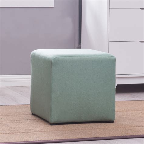 Ottoman Foot Stool by Square Cube Ottoman Foot Stool Foot Rest Seating Frame