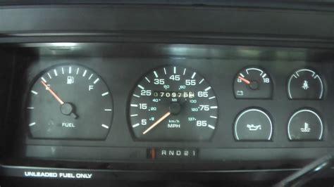 how petrol cars work 1993 dodge caravan instrument cluster retrofitting 87 96 dakota gauge cluster dakota durango forum