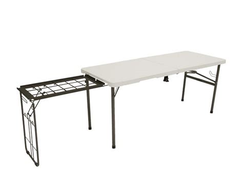 Lifetime Folding Table by Lifetime Cing Tables 80286 55 Foot Fold In Half Cooking