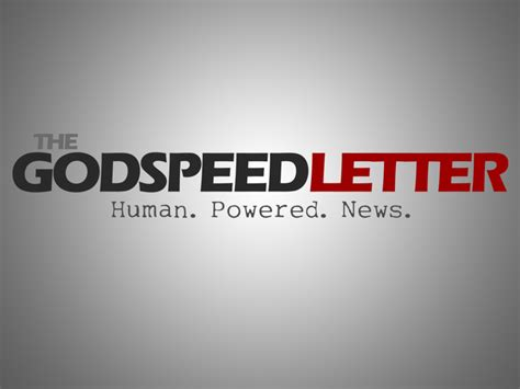 Godspeed Closing Letter Godspeed Letter Logo 187 Fresh Media Graphics