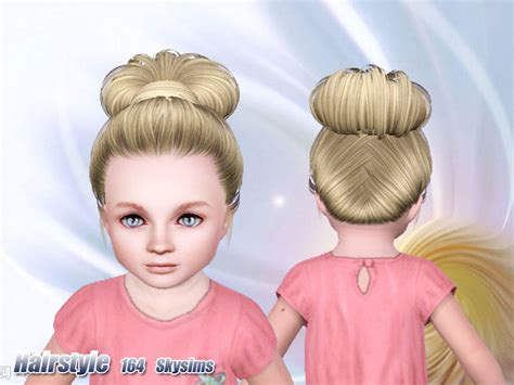 sims 3 toddler hair skysims hair toddler 164