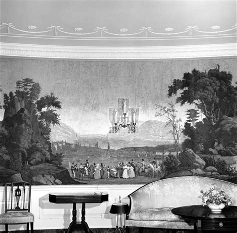 white house diplomatic room kn 20311 antique wallpaper in the diplomatic reception room white house f kennedy
