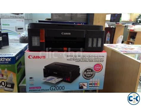 Tinta Original Canon G2000 canon pixma g2000 refillable ink tank all in one clickbd