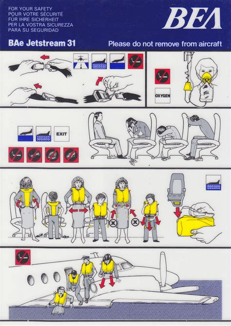 airline safety card template aircraft safety card template 28 images airplane