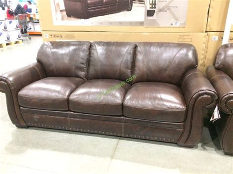 leather loveseats costco simon li leather sofa loveseat costcochaser