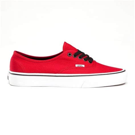 Sepatu Wedges Kanvas Vans Hitam 77 buy vans u authentic canvas skate shoes in chili pepper black
