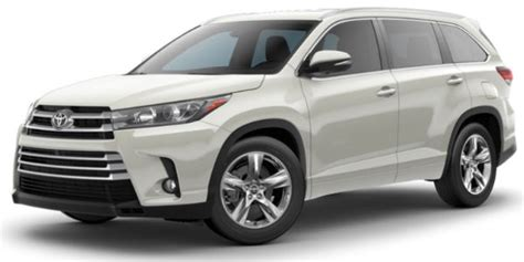 toyota highlander colors what are the 2018 toyota highlander interior and exterior