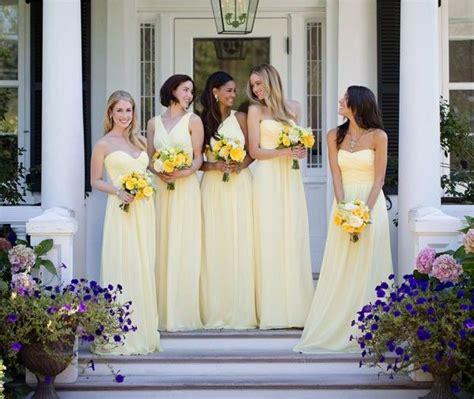 light yellow bridesmaid dresses best 25 different bridesmaid dresses ideas on pinterest