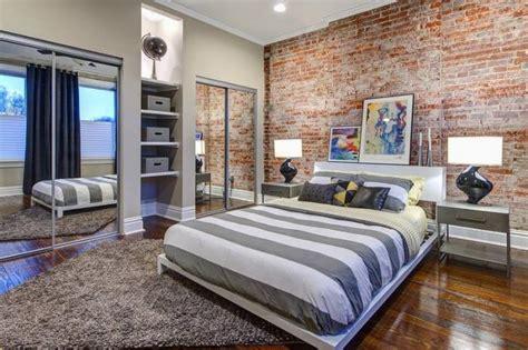 accent wallpaper schlafzimmer les briques de parement et les briques apparentes